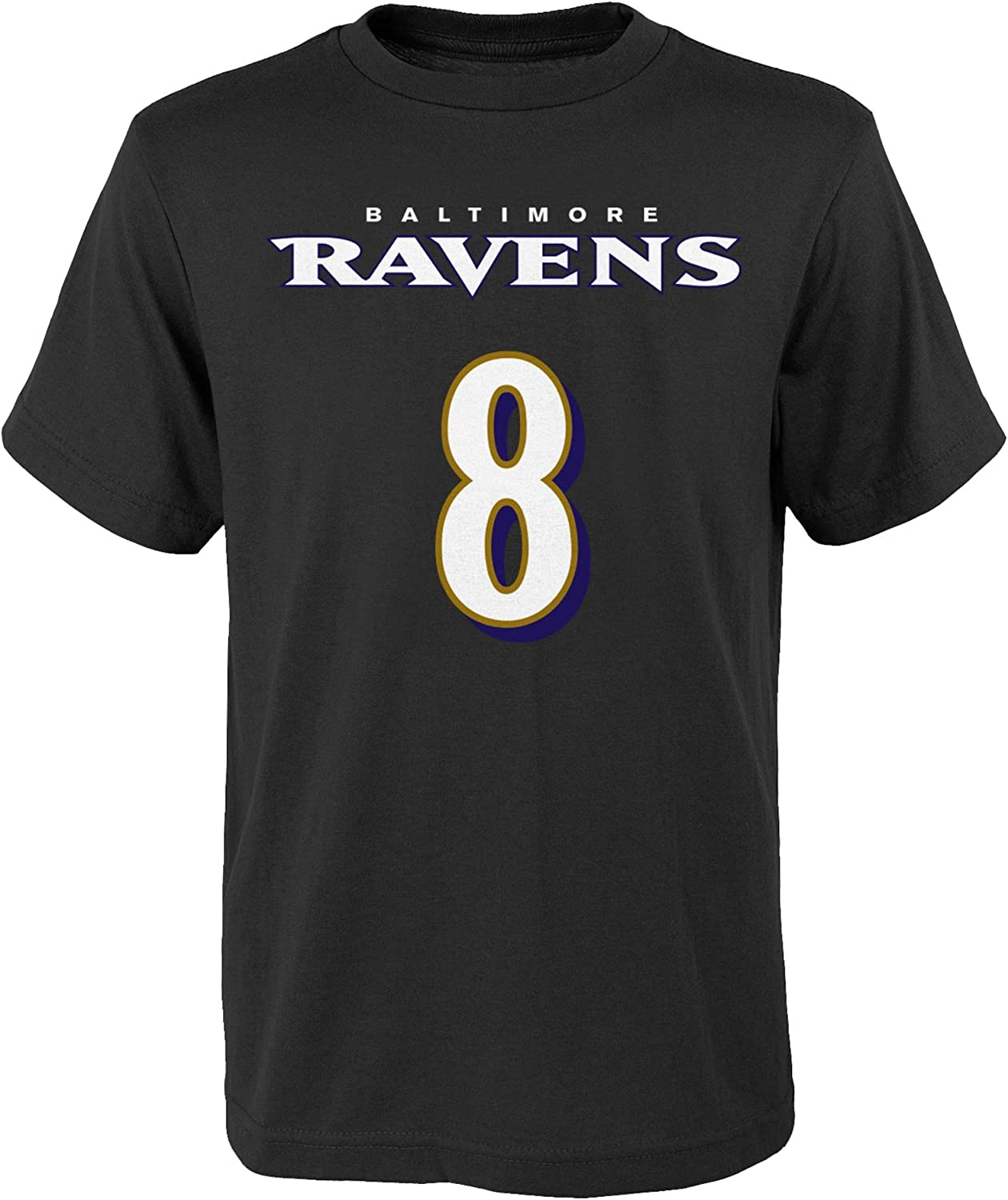 NFL Kids Youth Team Color Alternate Mainliner Name and Number Player T-Shirt