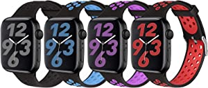 SKYLET Compatible with Apple Watch Bands 44mm 42mm 40mm 38mm Women Men Series 6/5/4/3/2/1/SE