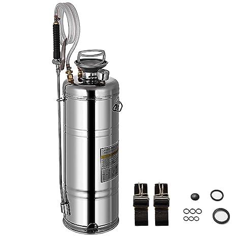Famico Pulverizador de Acero Inoxidable, 3.5 galones: Amazon ...