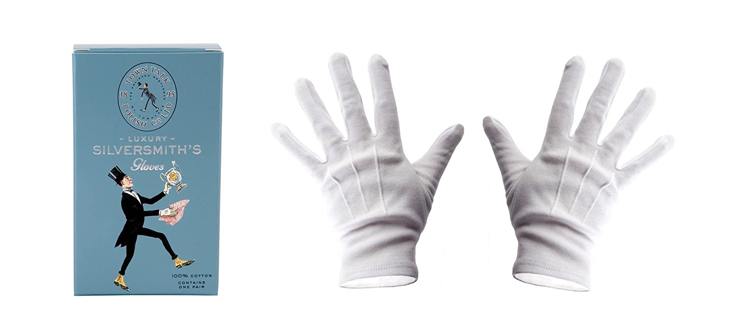 Town Talk Luxury Silversmiths Gloves - one size. towntalk TT-090