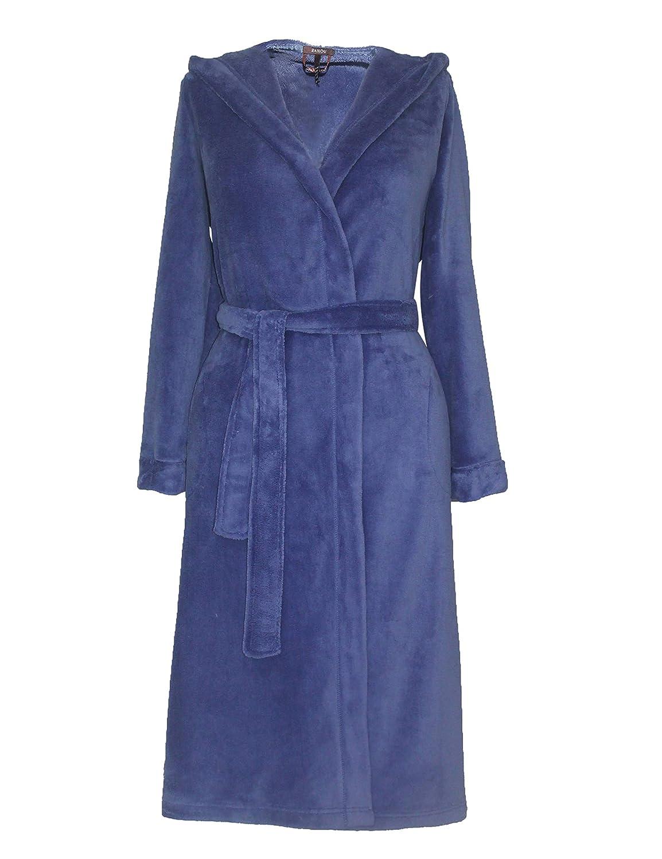 Douce et Confortable Robe Sauna /à Capuche Coral Fleece Peignoir RAIKOU Femme Peignoir /à Capuche Super l/ég/ère et Respirante