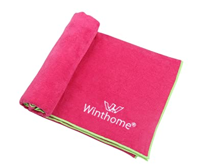Amazon.com: winthome Bikram Yoga Mat Toalla 25