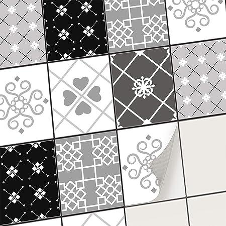 Stickers Carrelage Autocollant Adhesif Mural Deco Carreaux De