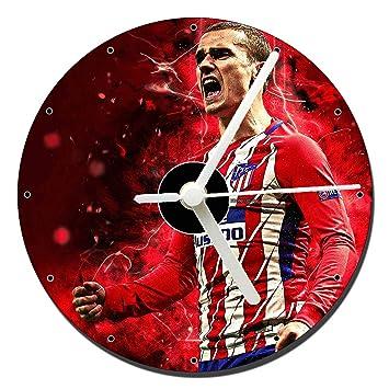 MasTazas Antoine Griezmann Atletico De Madrid Reloj CD Clock 12cm