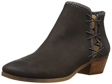 Jack Rogers Women's Reagan Ankle Bootie, Charcoal, ...