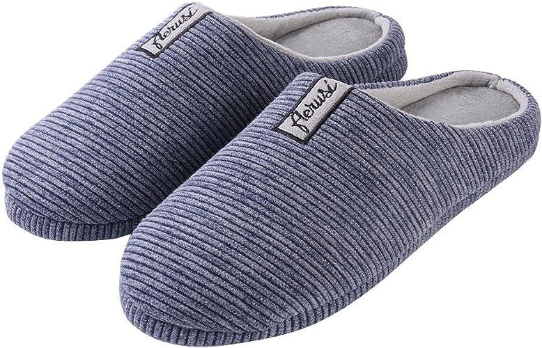 Aerusi Pink Fluffy Plush Tassel Slippers Winter Warm House Indoor Non Slip Shoes