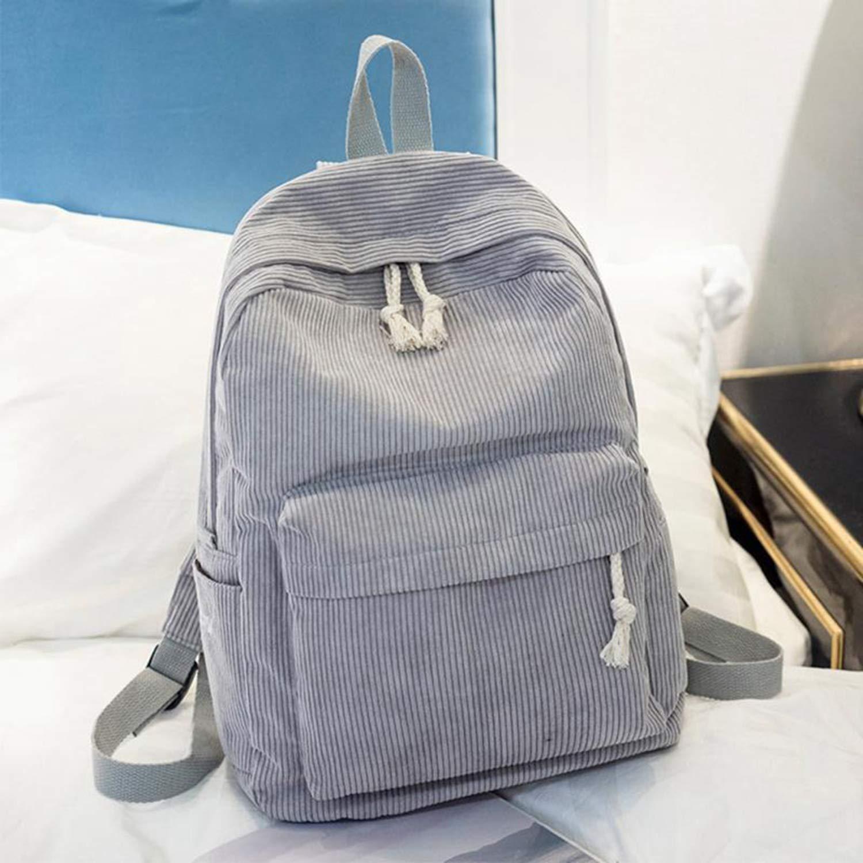 Amazon.com: New Bagpack Backpacks Women Nylon Bagpack Softback Solid Bag Fashion Soft Handle Mochilas Mujer Escolar Rucksack School Bag for Girls: Computers ...