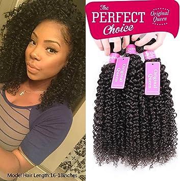 Amazon original queen 100 brazilian unprocessed virgin original queen 100 brazilian unprocessed virgin kinky curly human hair weave 3 bundles deep curly pmusecretfo Images