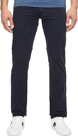 7e58208bc902 Lacoste Men's Cotton Twill Stretch 5 Pocket Slim Fit Pant, HH2761-51, Navy