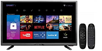 Kevin 80 cm (32 Inches) HD Ready LED Smart TV K100007AM (Black)