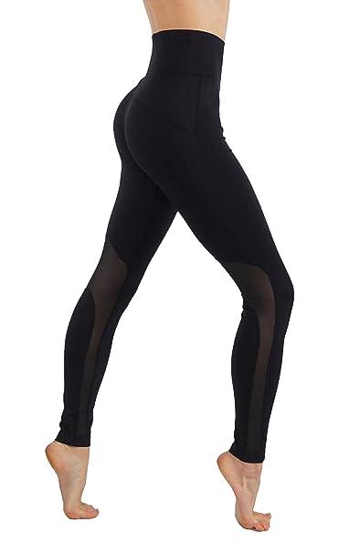 Amazon.com: CodeFit Yoga Power Flex Dry-Fit Leggings ...