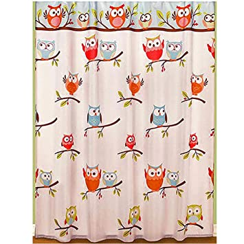 Amazon Com Hooty Bathroom Collection Colorful Hoot Owl Bath