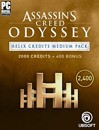 Assassin's Creed Odyssey - HELIX CREDITS MEDIUM PACK - 2400