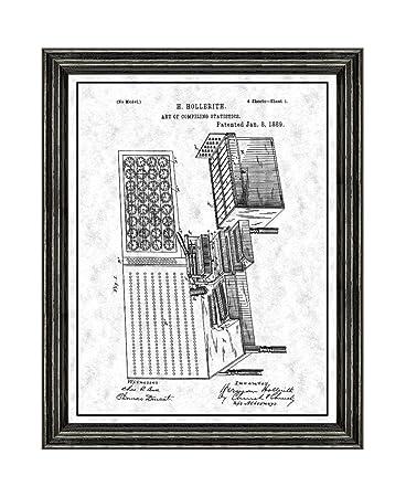 Amazon.com: Art Of Compiling Statistics Patent Art Gunmetal Print ...