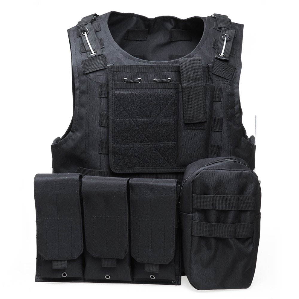 XIAOWANG PUBG Tactical Vest Paintball Airsoft Chest Protector Tactical Vest Outdoor Sports Body Armor