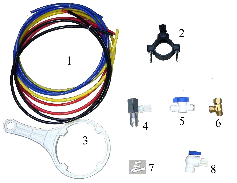 koolermax K5 sistema de agua potable Ro nueva completa de 75 GPD: Amazon.es: Bricolaje y herramientas