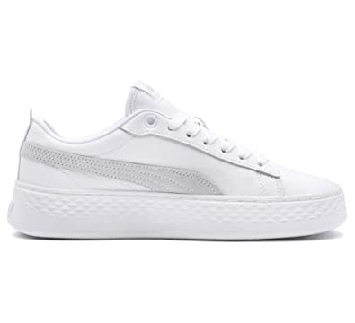 Puma Women s Smash Platform L Low-Top Sneakers  Amazon.co.uk  Shoes   Bags 8fd6b0863