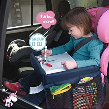 car tray table for kidsnuoyo childrens travel traykids snack and play tray