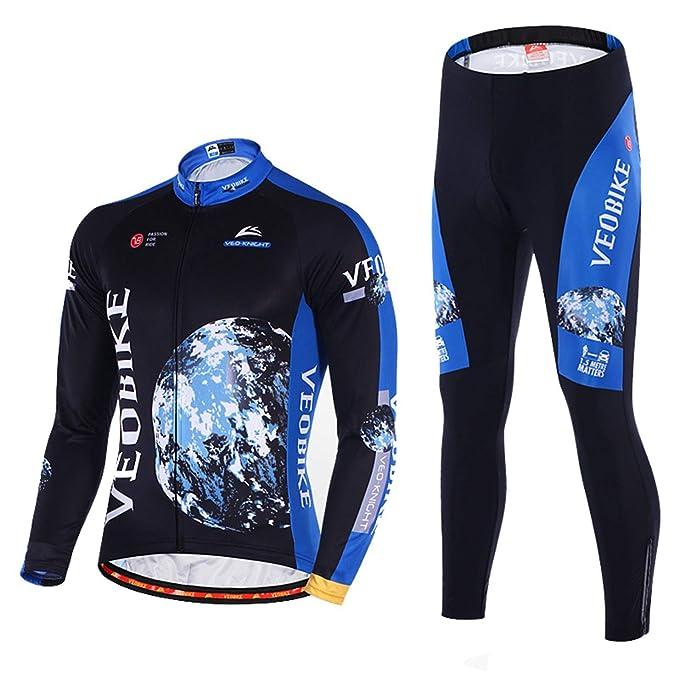 Amazon.com: EoCot - Camiseta de ciclismo para hombre, manga ...