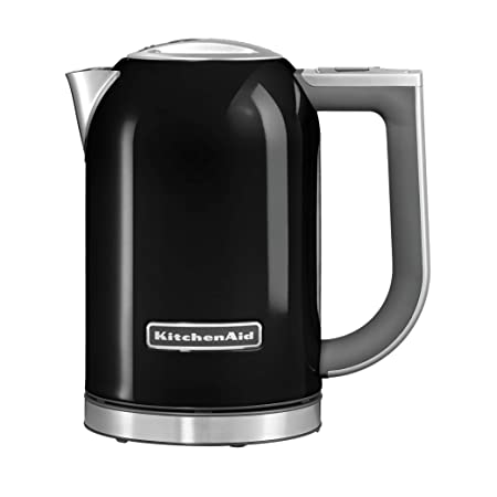 KitchenAid 5KEK1722DOB 1.7L Electric Kettle (Onyx Black) Hand Mixers at amazon