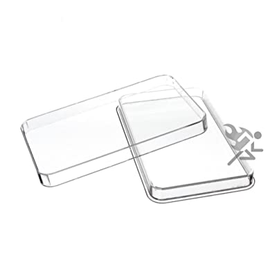 10oz Silver Bar Direct Fit Air-Tite Capsule Holder Qty: 2: Office Products