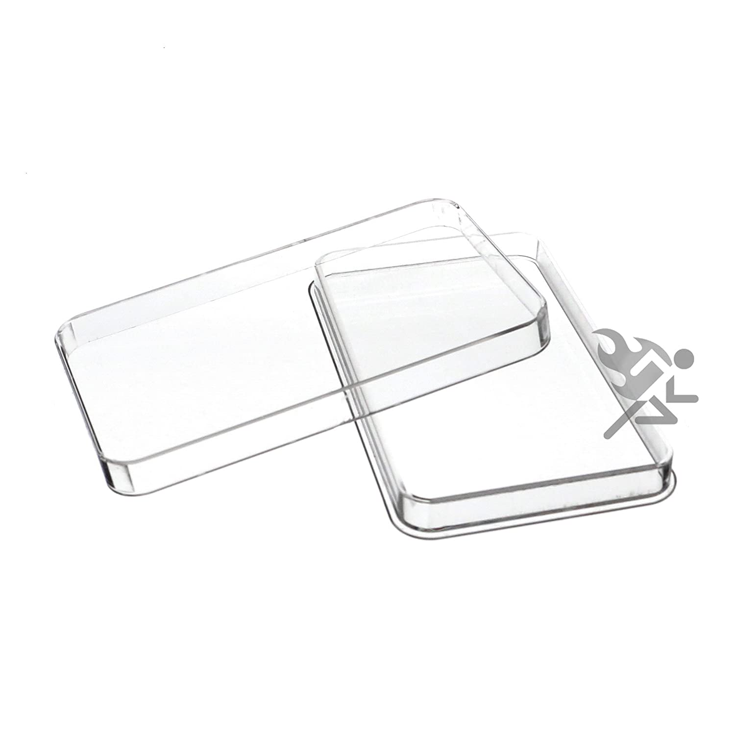 10oz Silver Bar Direct Fit Air-Tite Capsule Holder Qty: 2 Air-Tite Holders