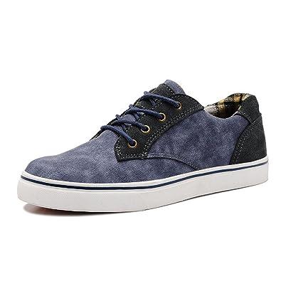 MHSXN Hommes Chaussures Respirant Toile Chaussures Hommes Occasionnels Chaussures Printemps Tissu Chaussures,Khaki-40
