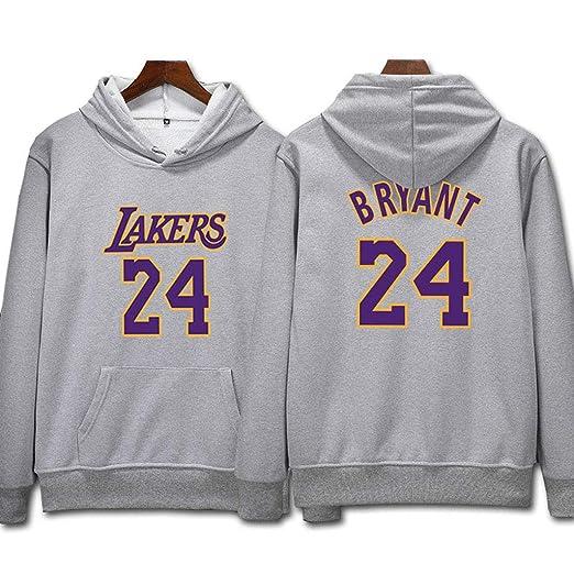 L.A Lakers Kobe Bryant #24 Sudadera con capucha Hombres ...