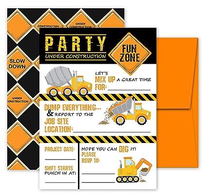 amazon com deluxe construction dump truck birthday party