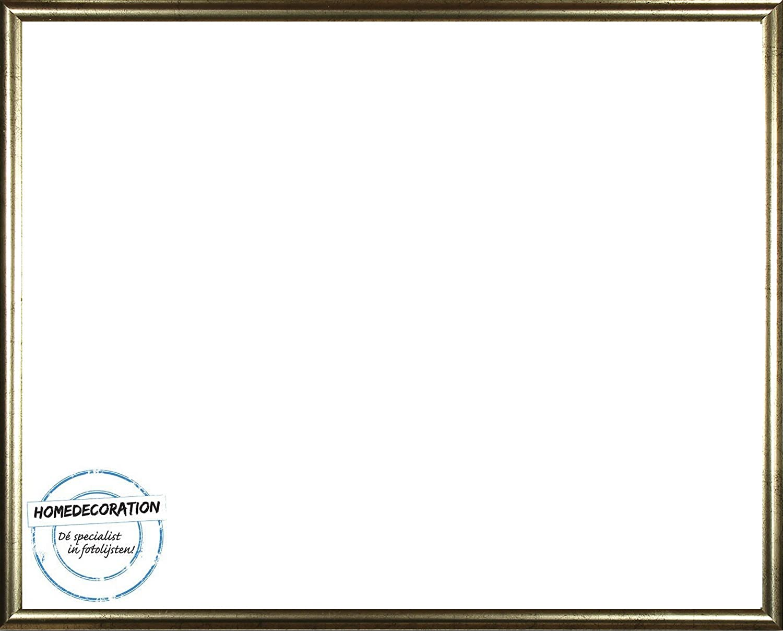 Rotterdam Kunststoff Bilderrahmen 42x59 cm 59x42 cm Farbauswahl: hier Braun mit Acrylglas Antireflex