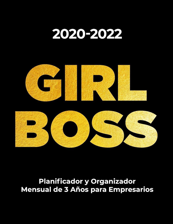 2020-2022 GIRL BOSS Planificateur de Agenda Mensuel sur 3 ...