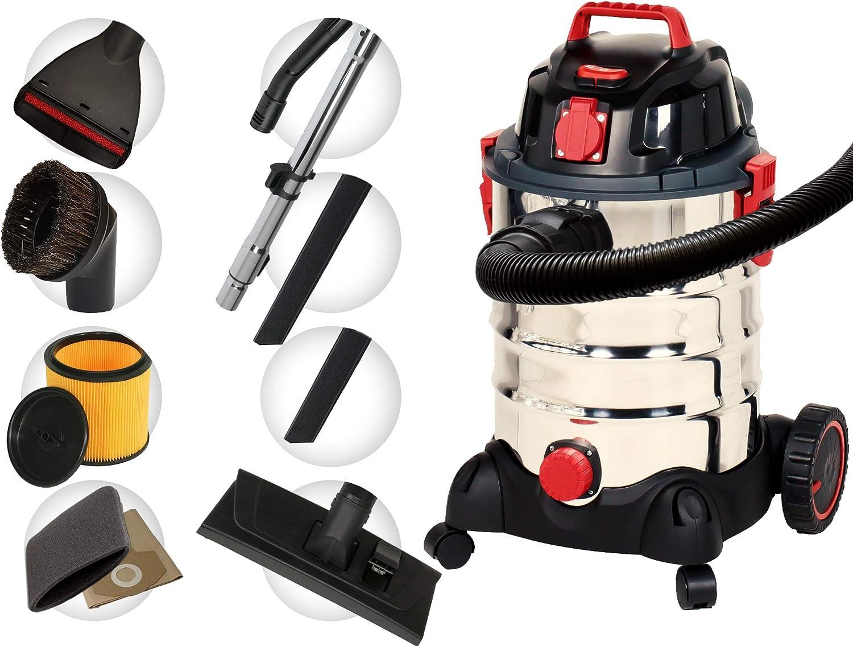 CARAMBA A1250 Aspirador multifuncional con función de soplado de 1250 vatios para la limpieza de interiores, tapicería, asientos, alfombras y accesorios: Amazon.es: Coche y moto