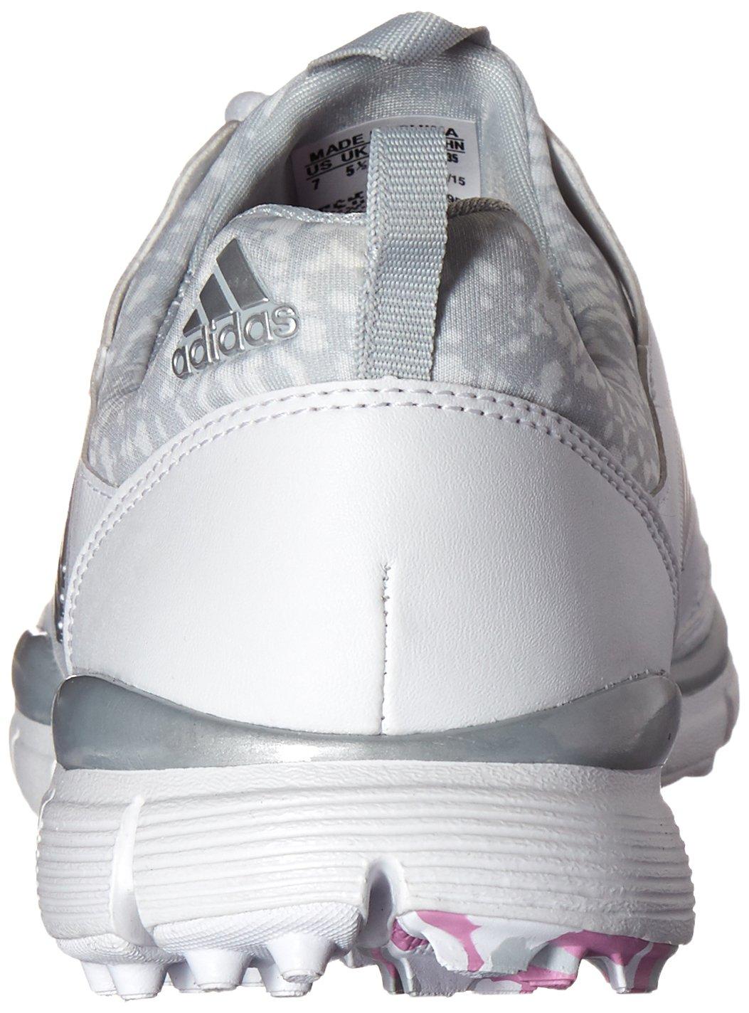 adidas Women's W Adistar Sport Spikeless Golf Shoe B013UTNDPQ 8 B(M) US|Ftwr White/Matte Silver/Wild Orchid-tmag