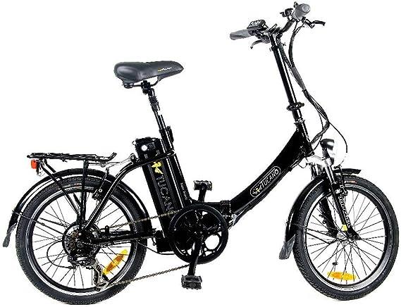 TUCANO Basic Renan - Bicicleta eléctrica deportiva (Motor 250W ...