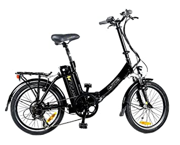 TUCANO Basic Renan - Bicicleta eléctrica deportiva (Motor 250W - 36V) - Color negro