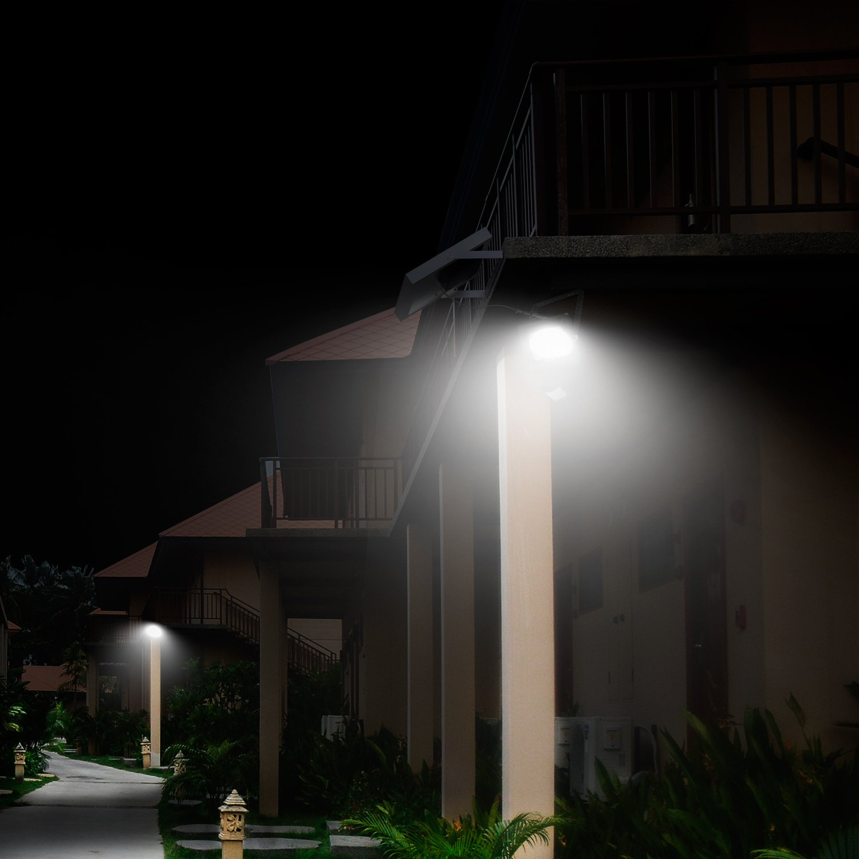 Solar Proyector LED CLY,Iluminaci/ón Blanco C/álido,luz Solar con 5m de Longitud de l/ínea Impermeable IP66 Foco Solar Exterior con Tres Bombilla para Jard/ín,C/ésped,Patio,Camino,Corredor ect.