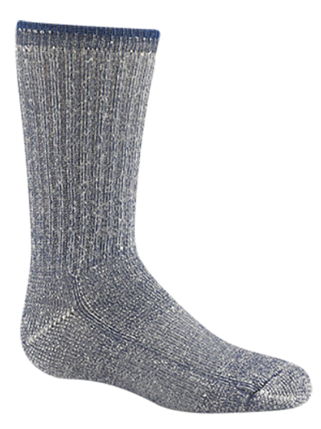 Wigwam Kid's Merino Wool Comfort Hiker Socks,Toddler 4-7 with a Helicase brand sock ring
