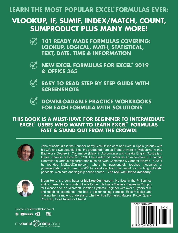 20 Most Popular Excel Formulas 20 Excel Series, Band 20 Amazon ...