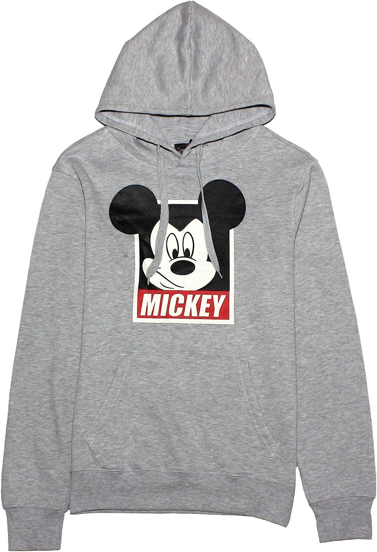 Disney Sudadera con Capucha de Mickey Mouse Hombre