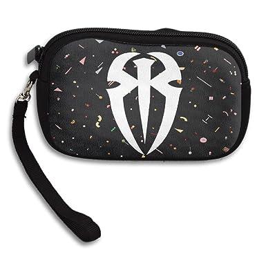 launge roman reigns logo coin purse wallet handbag amazon co uk