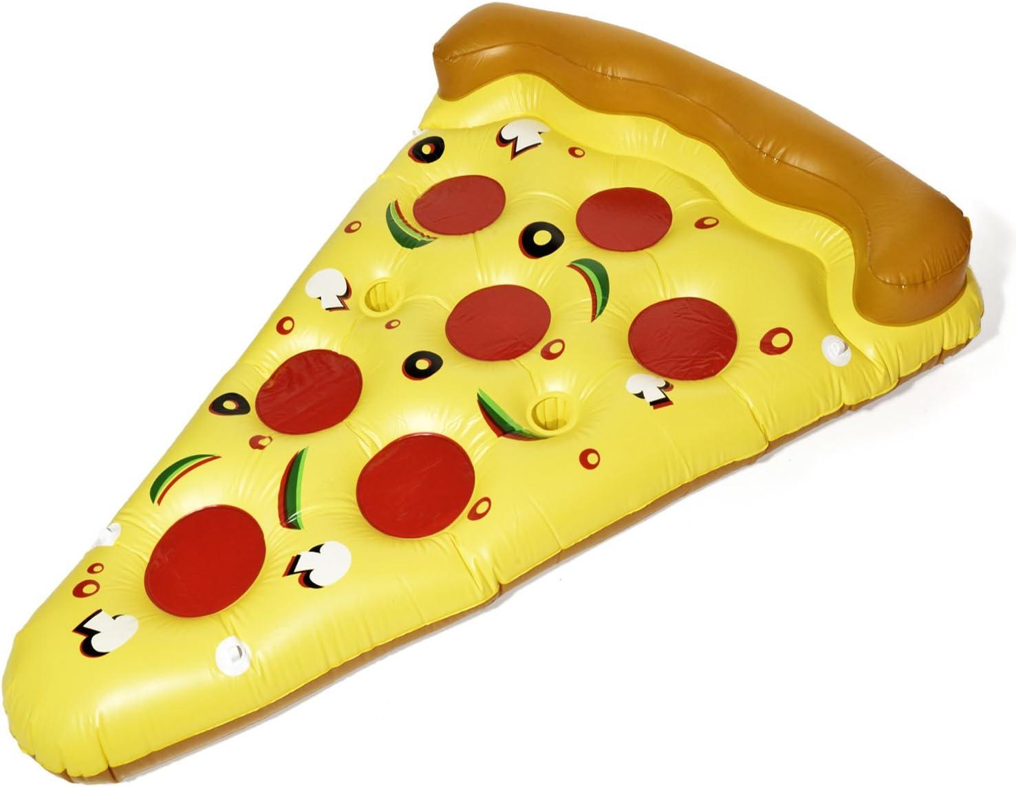 Goods & Gadgets Pizza Aire Colchón Hinchable Pizza Pieza Colchón ...