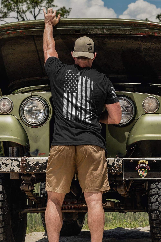 Nine Line Men's T-Shirt America
