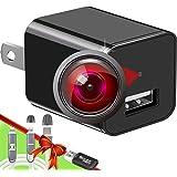 Spy Camera Charger - Hidden Camera - Premium Pack - HD 1080P - Best Spy Camera - USB Charger Camera - Hidden Spy Camera…