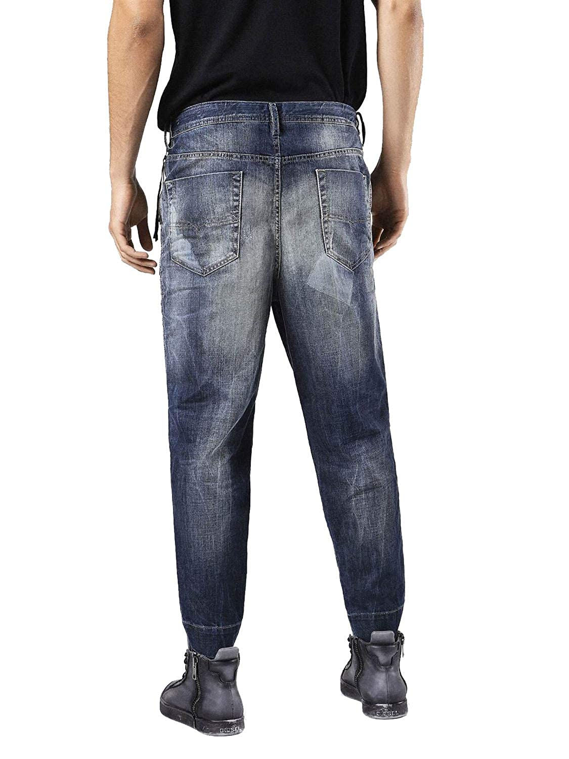 Diesel Carrot-Chino 0856P Pantalones Hombre Jeans Chino ...