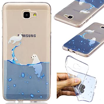 Ooboom® Samsung Galaxy J5 Prime Funda Transparente TPU Silicona Gel Case Cover Carcasa Cubierta Suave Ultra Delgado para Samsung Galaxy J5 Prime - ...