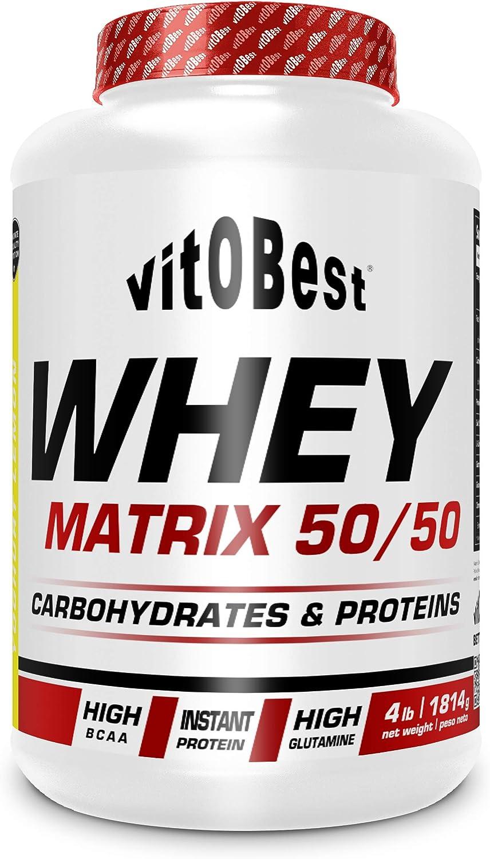 WHEY MATRIX 50/50 4 lb LIMON - Suplementos Alimentación y Suplementos Deportivos - Vitobest