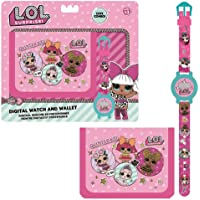 LOL SURPRISE Set Regalo Billetera y Reloj Digital