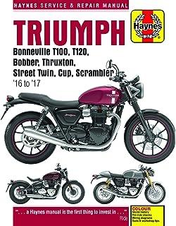 Amazoncom Triumph Bonneville T120 Comfort Seat Black A2306447