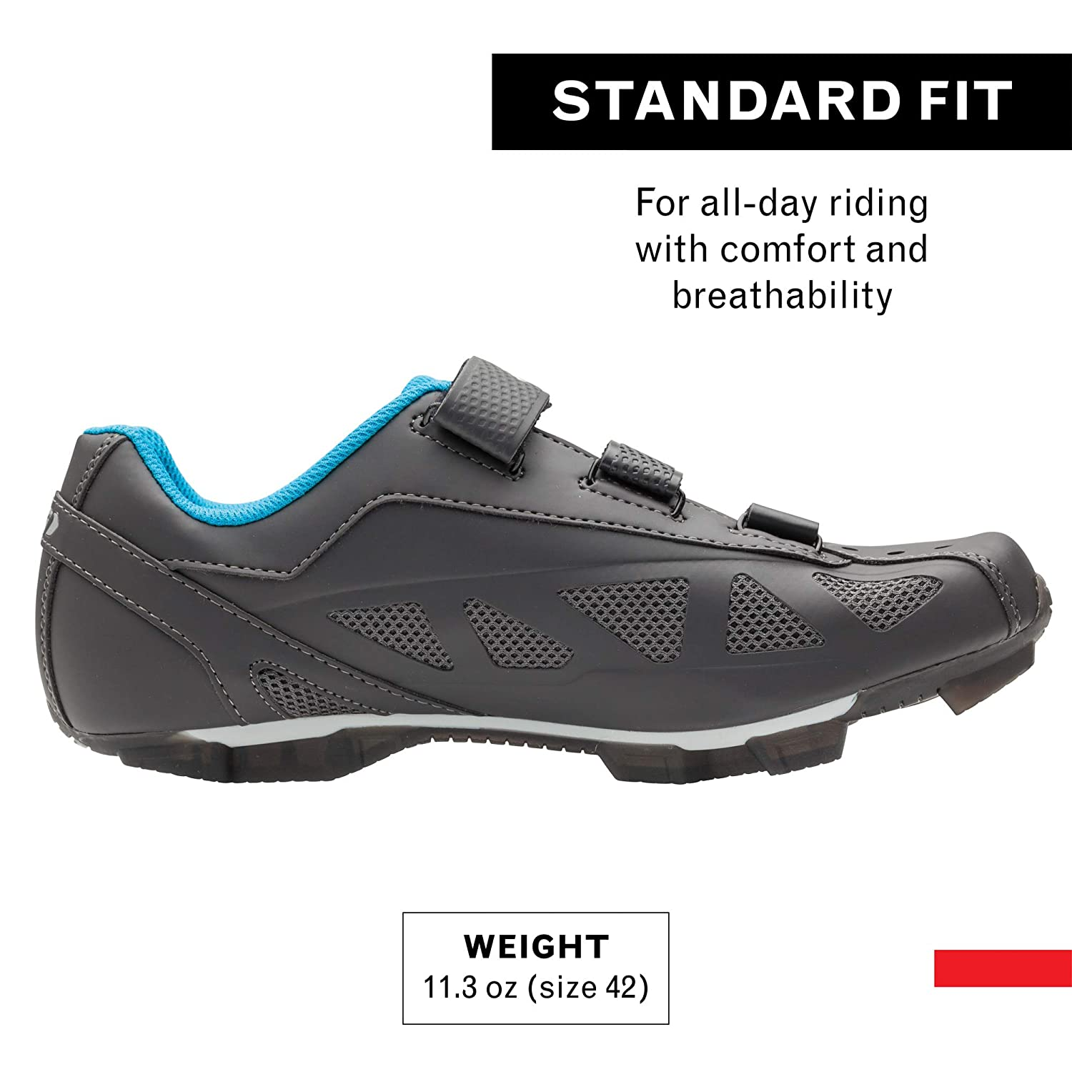 SPD Cleats Compatible with MTB Pedals MTB and Indoor Cycling Louis Garneau Mens Multi Air Flex Bike Shoes for Commuting