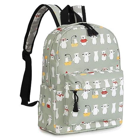 3d65b74ae99 Zicac Children's Cute Canvas Backpack Mini Rucksack Bag (M, Blue Car)